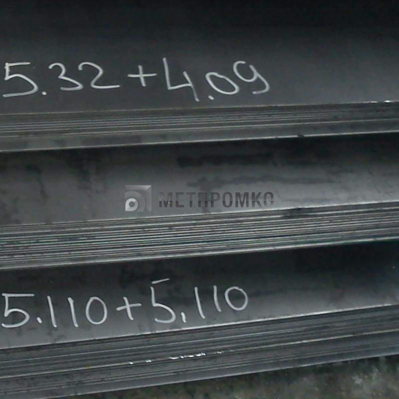 Лист стальной 17Г1СУ, 09Г2С, 10Г2, 10ХСНД, ГОСТ 14637-89, горячекатаный 4-7.5 мм