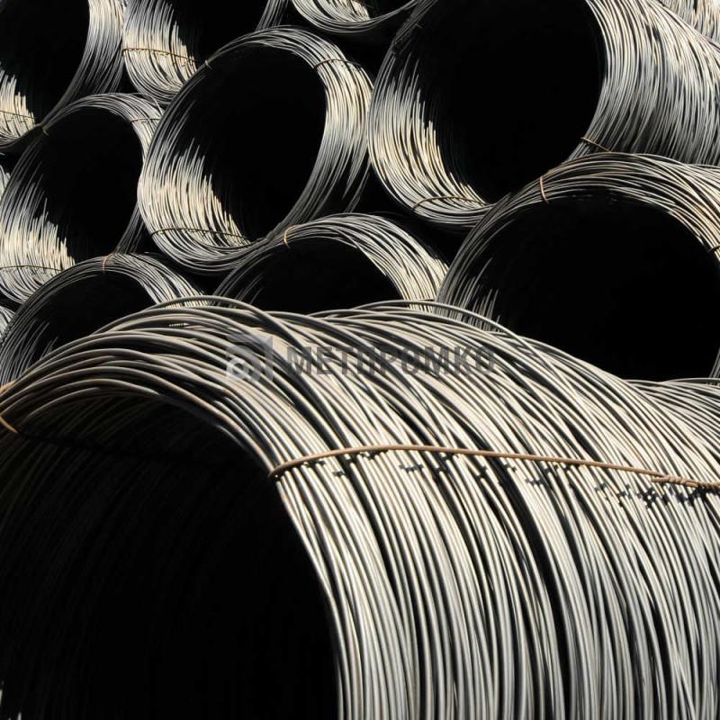 Проволока углеродистая сталь 08кп, 10пс, 10кп, 15кп, 20пс, ГОСТ 17305-91